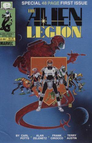 Alien Legion (1984) #1 by Carl Potts, Alan Zelenetz, & Frank Cirocco.