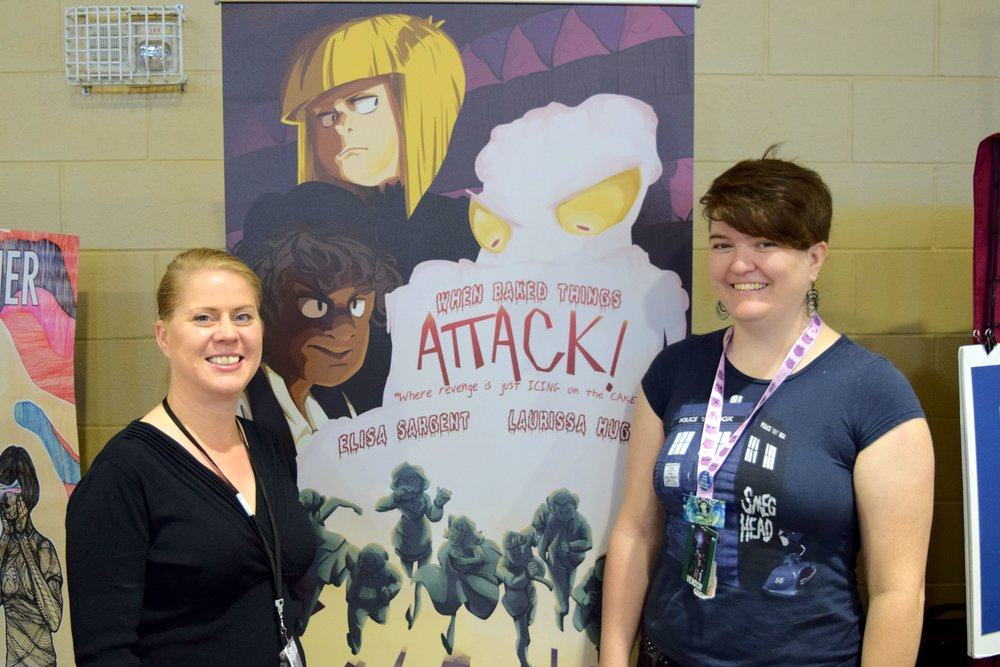 When Baked Things Attack Fort Collins Comic Con! - An Interview With Elisa Sargent & Laurissa Hughes   Written by Neil Greenaway