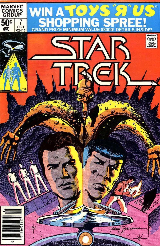 Star Trek (1980) #7, cover by Mike Nasser.