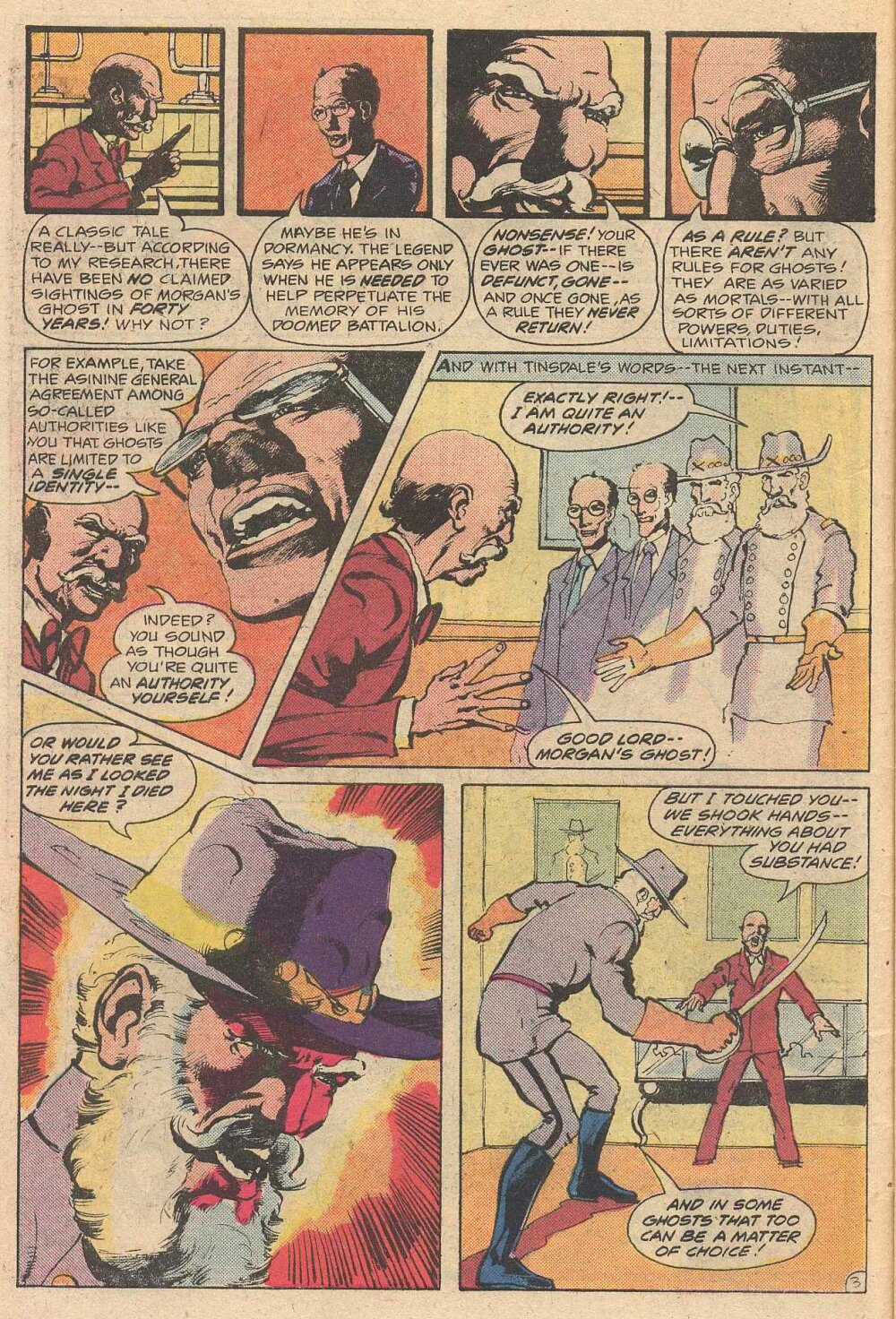 Ghosts (1971) #97 pg.4, art by Mike Nasser.