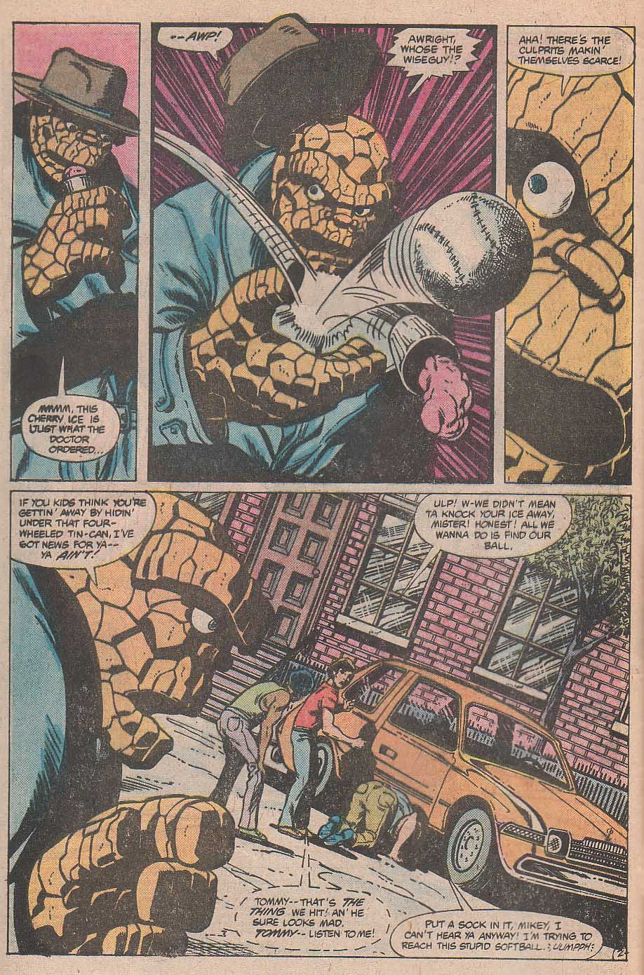 Marvel Two-In-One (1974) #70 pg.2, penciled by Mike Nasser & inked by Gene Day.