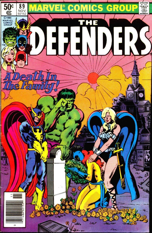 The Defenders (1972) #89, cover penciled by Mike Nasser & inked by Joe Rubinstein.