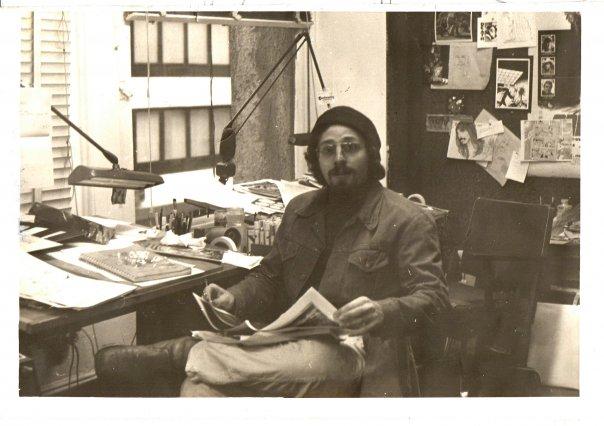 Joe D'Esposito at Continuity, 1977