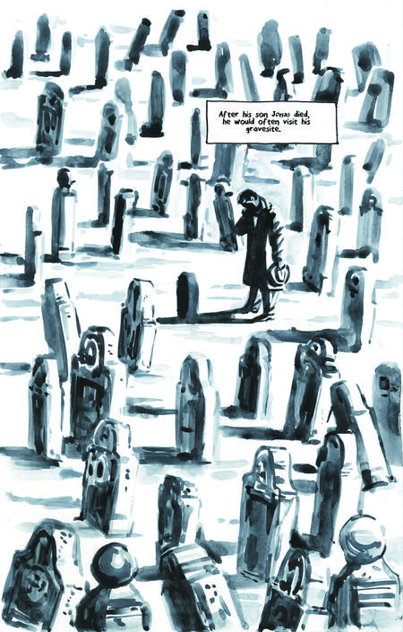 Krigstein: A Graphic Novel  - Sample Page 9, art & story by Joe D'Esposito.