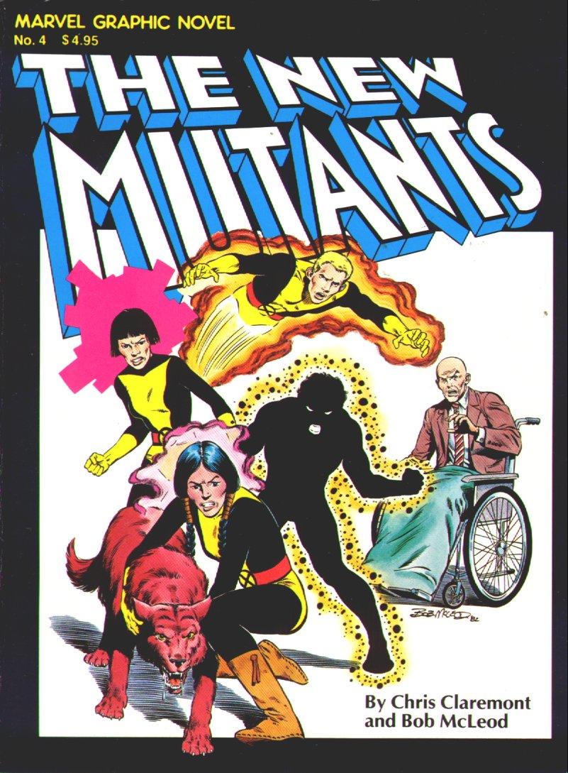 Marvel Graphic Novel (1982) #4, cover by Bob McLeod.