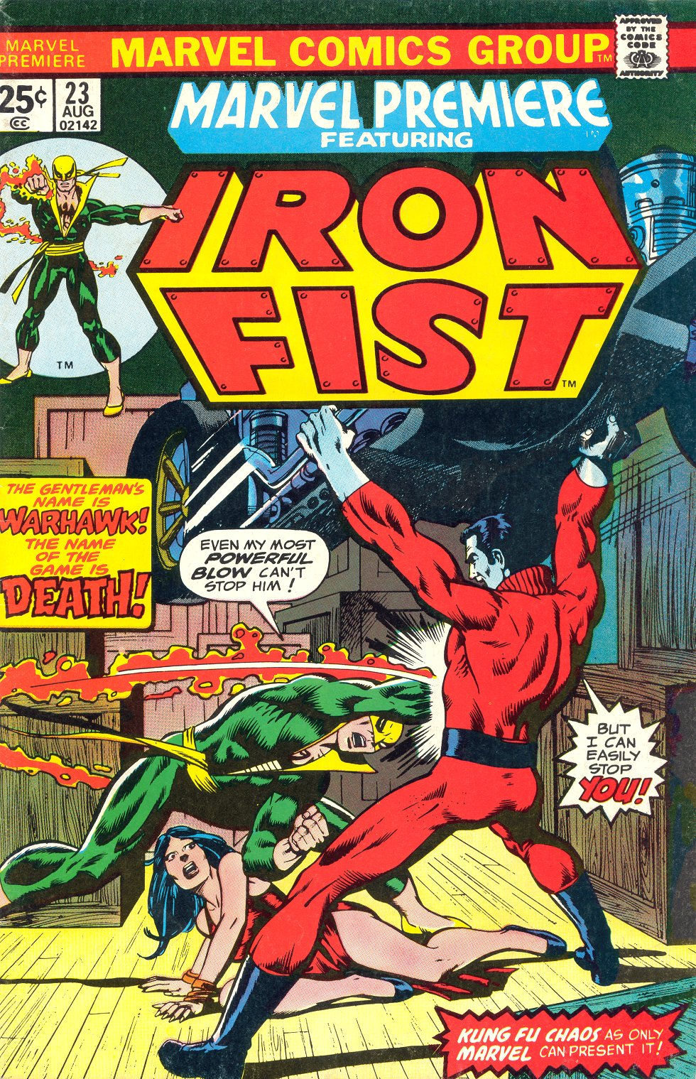 Marvel Premiere (1972) #23, cover penciled by Gil Kane & inked by Bob McLeod.