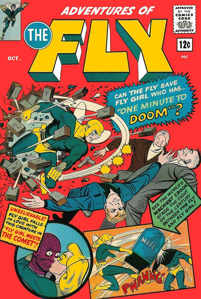 Adventures of the Fly (1960) #30, cover by Hy Eisman.