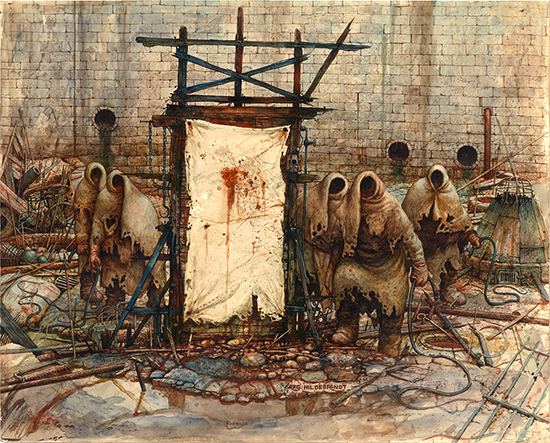 Dream 1: Crucifiers - by Greg Hildebrandt.