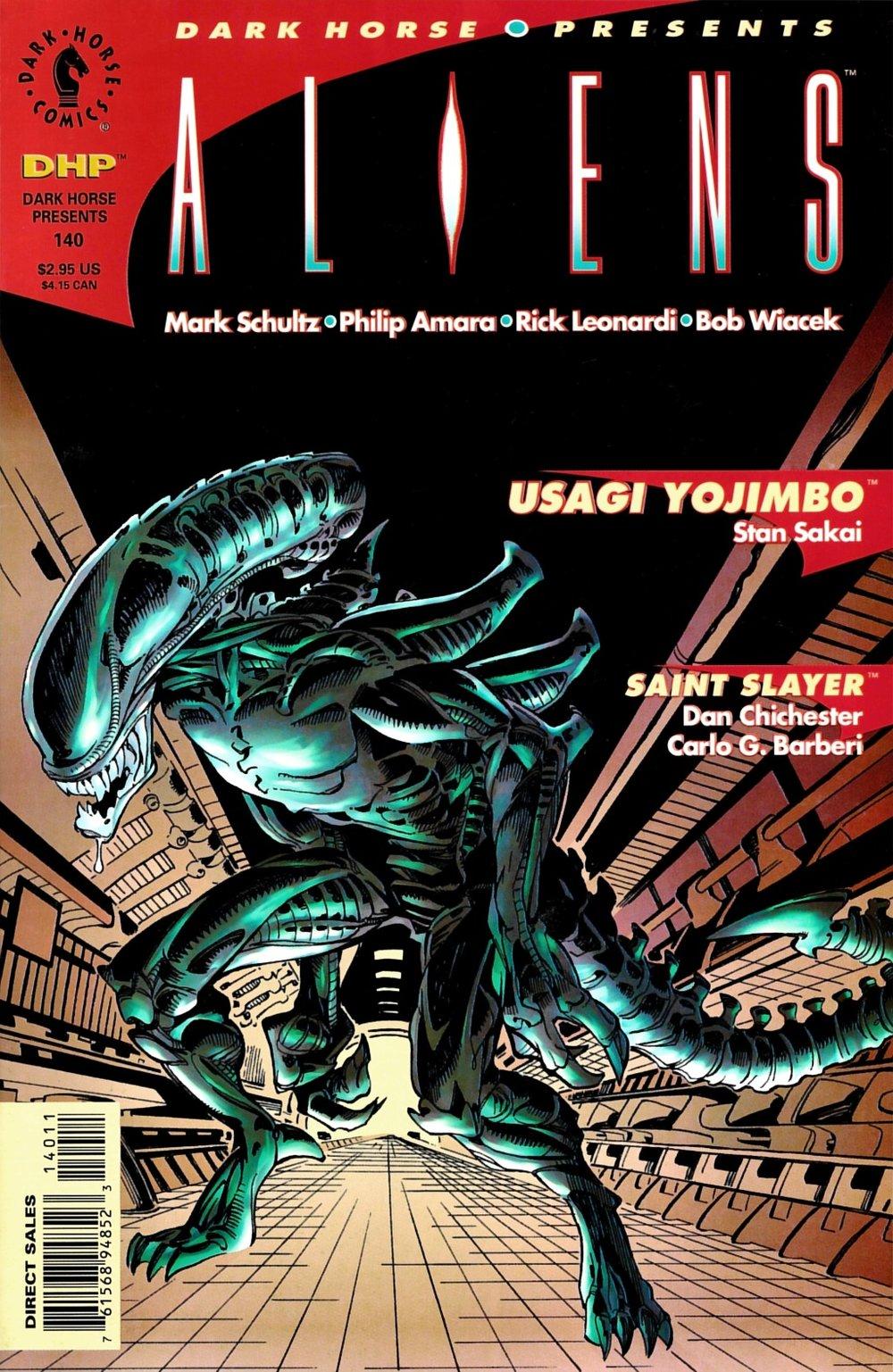 Dark Horse Presents (1986) #140, cover penciled by Rick Leonardi & inked by Bob Wiacek.