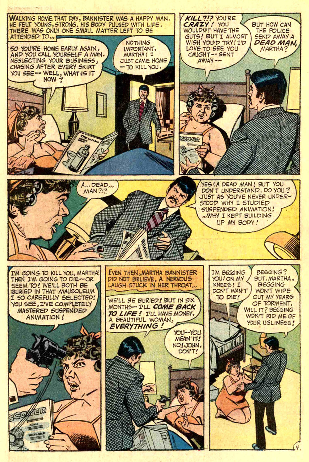 House of Mystery (1951) #210 pg25, art by Jose Delbo.
