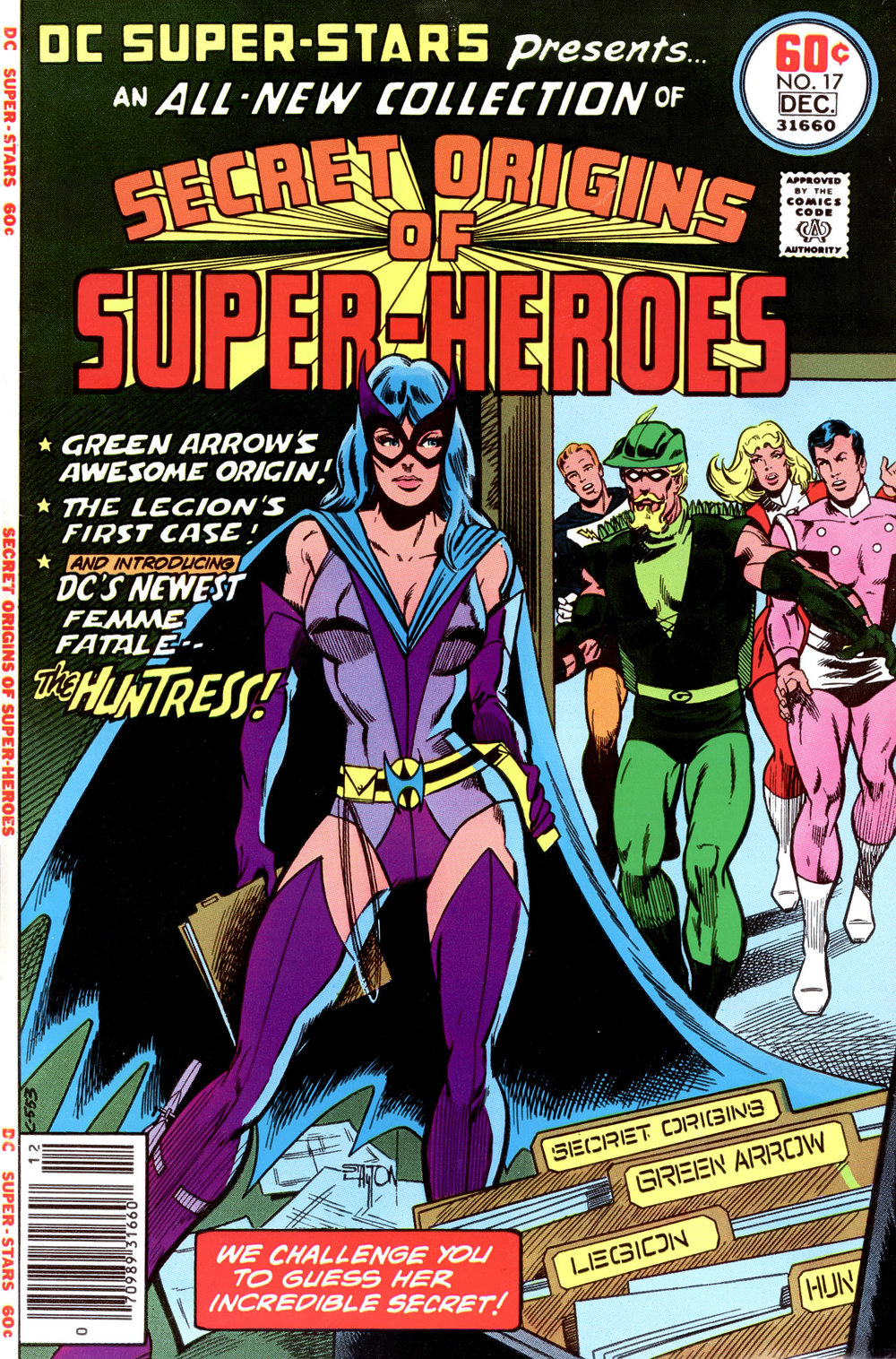 DC Super Stars (1976) #17, cover penciled by Joe Staton & inked by Bob Layton.