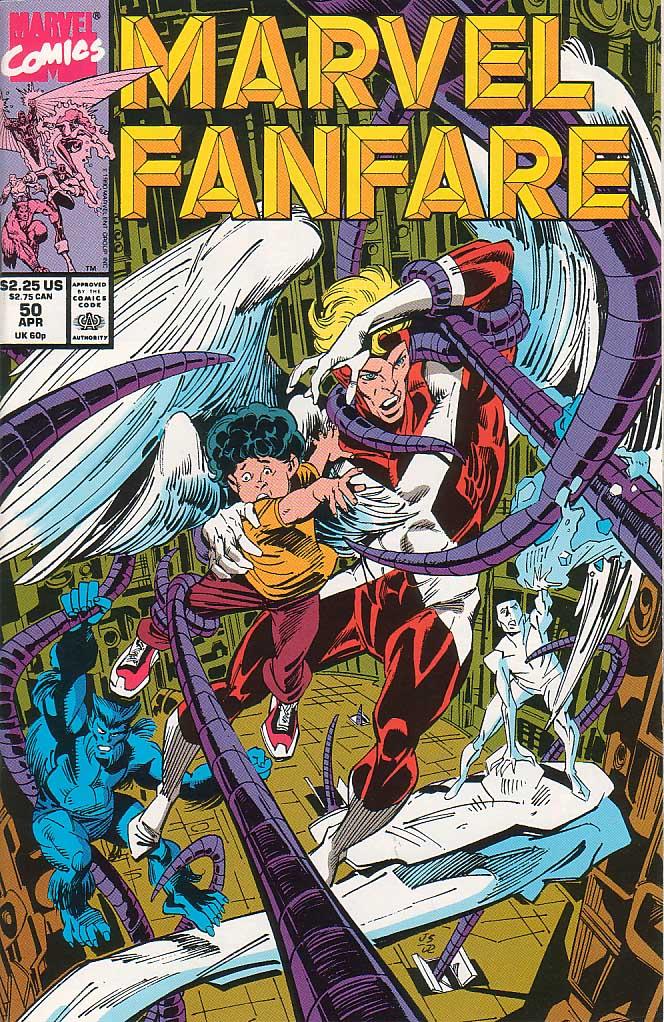 Marvel Fanfare (1982) #50, cover penciled by Joe Staton & inked by Joe Rubinstein.