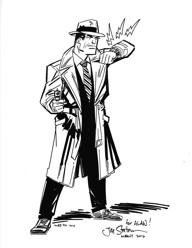 A Dick Tracy commission done by Joe Staton in 2016.