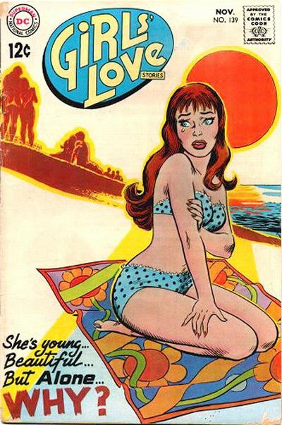 Girls' Love Stories (1949) #139, cover by Nick Cardy.
