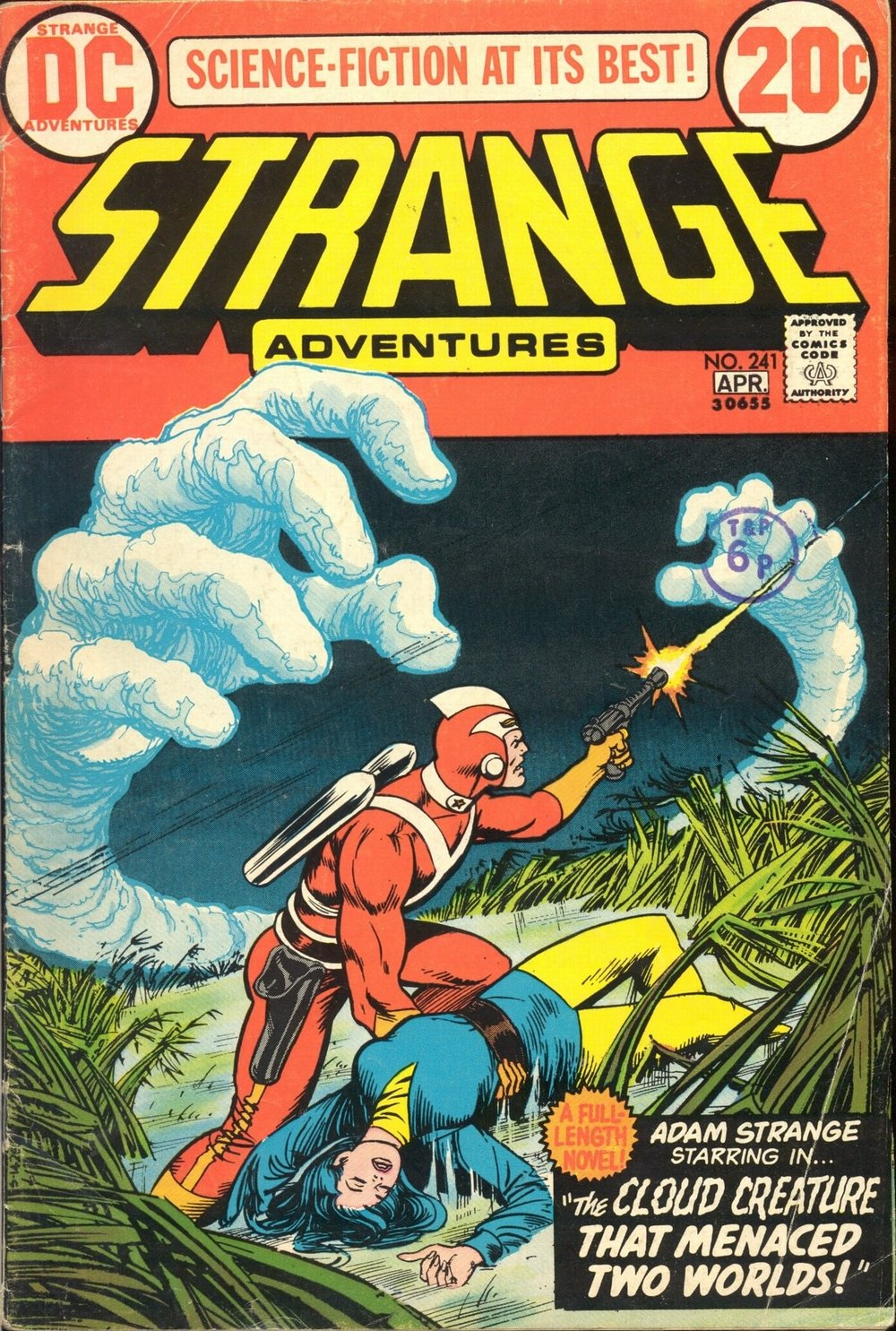 Strange Adventures (1950) #241, cover by Nick Cardy.