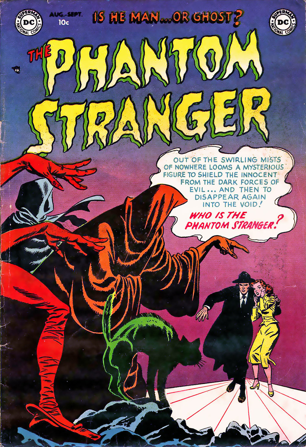 The Phantom Stranger (1952) #1 Carmine Infantino Sy Barry