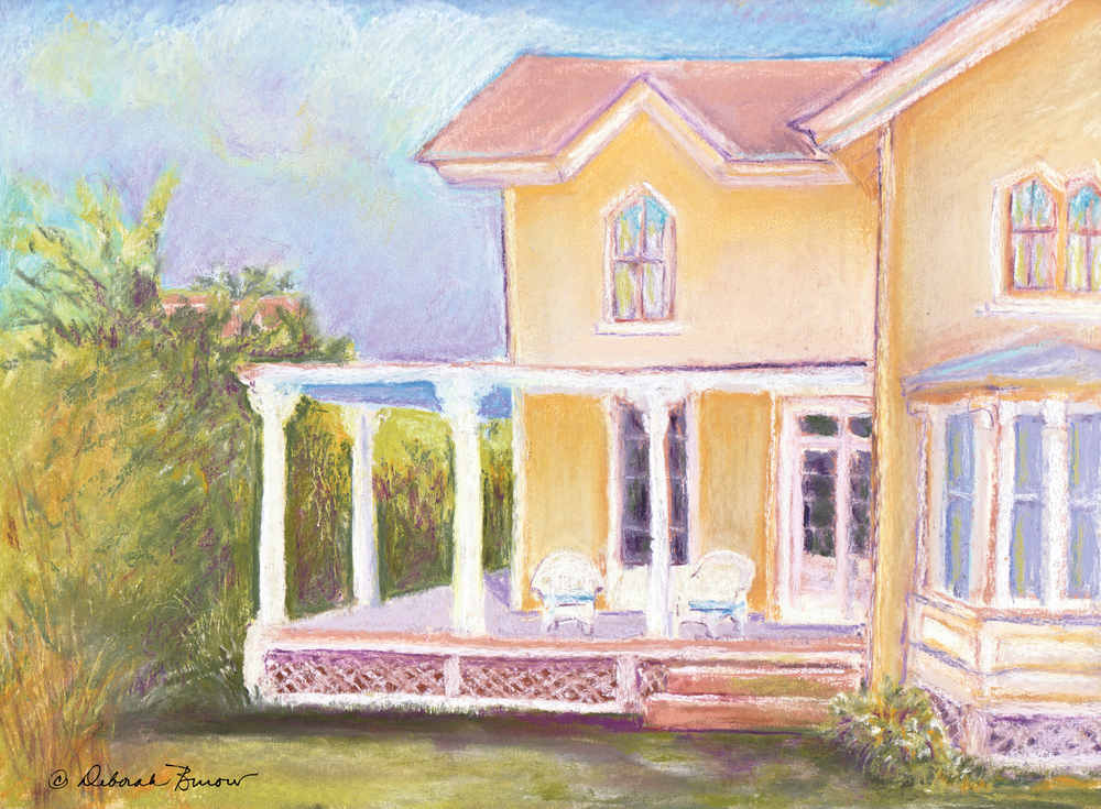 The Yellow Victorian by the Sea