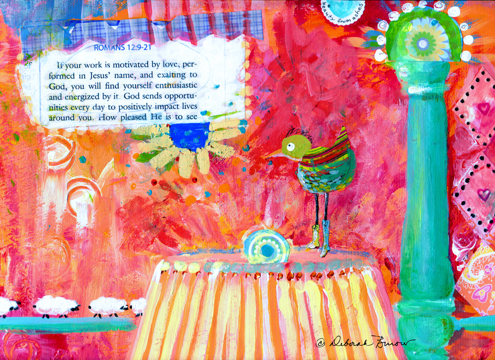 Bird and Romans