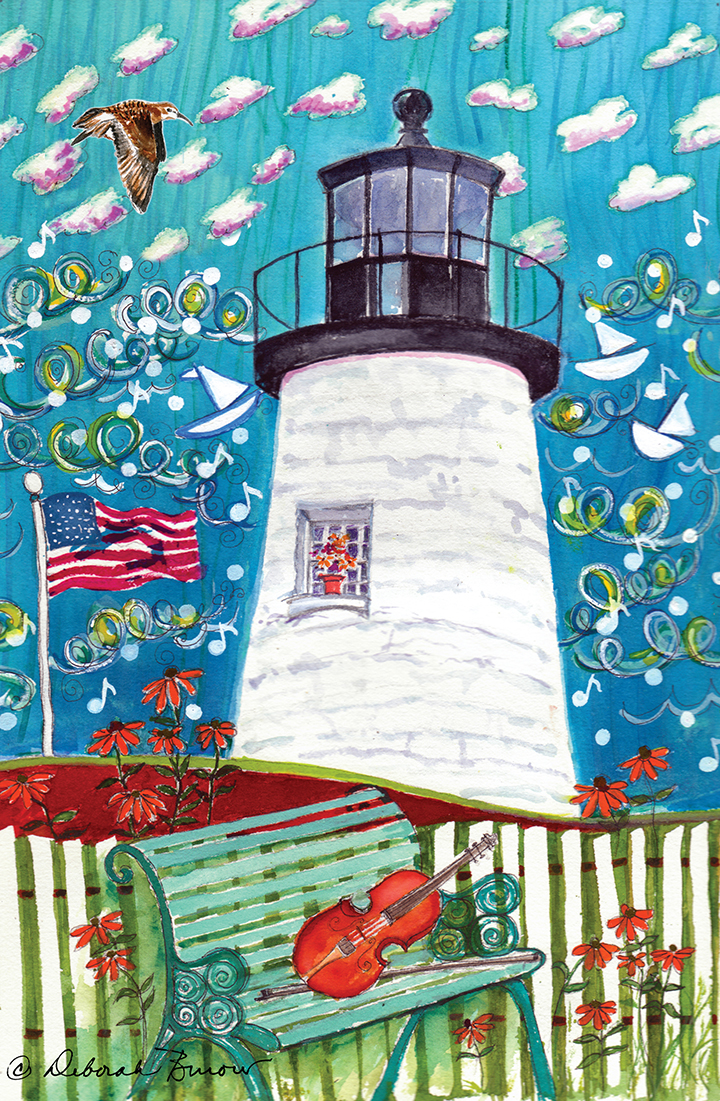 Lighthouse with Music