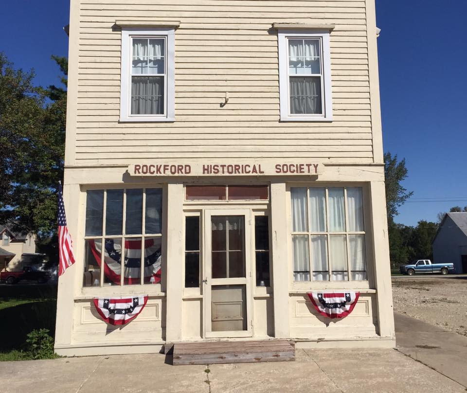 Many little towns have their historical centers or museums, like Rockford, Iowa