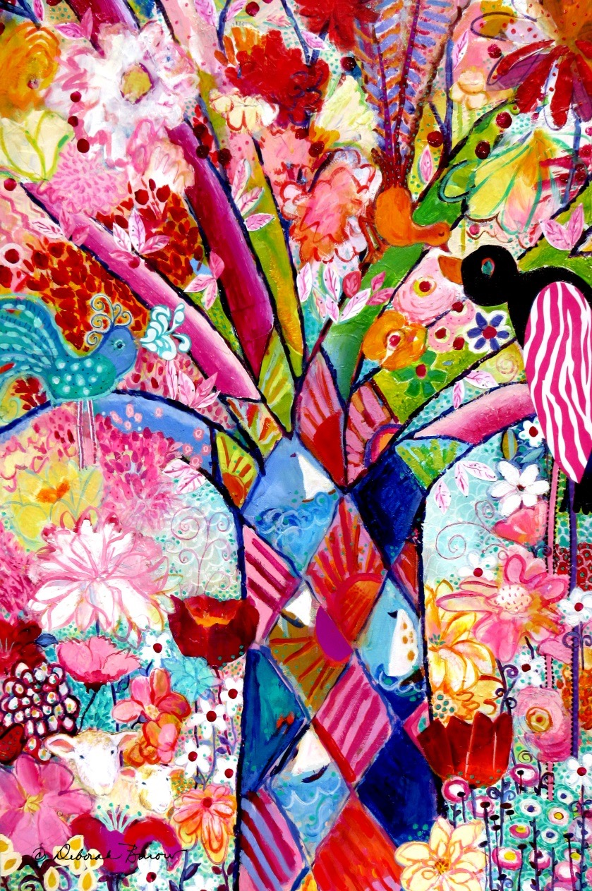 The Coloring Tree in Sheep Garden