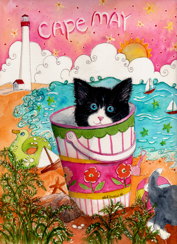 Cat in the Pail