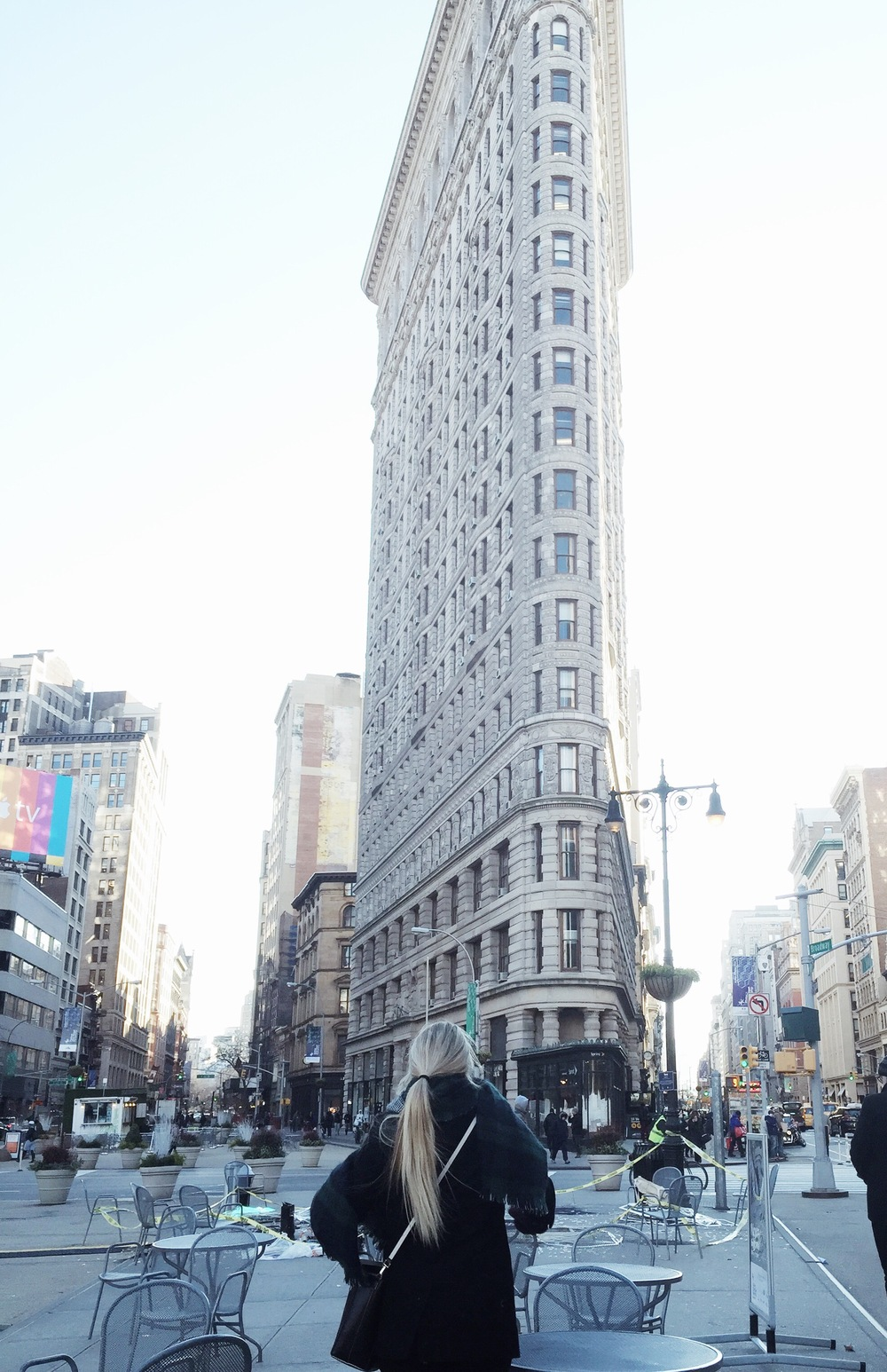 The Flat Iron Building is so cool and much more detailed in person. If you're in the city you have to check it out, and then head to Eataly - which is right next door. The market has the best food selection, and their hot chocolate is literally melted chocolate with whipped cream made in house!