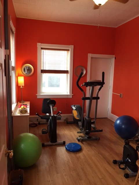 Our vitality and physical therapy room.
