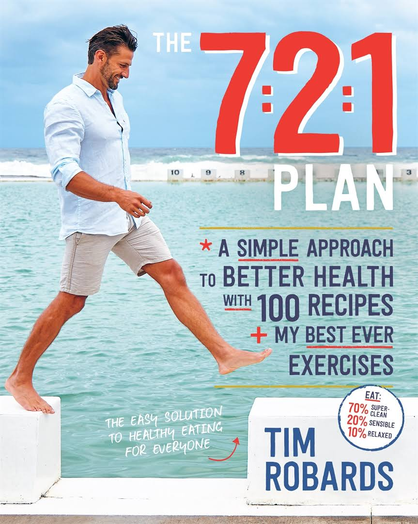 Tim Robards book 7:2:1 plan for The Robards Method was released in May 2017 and includes many of my recipes.