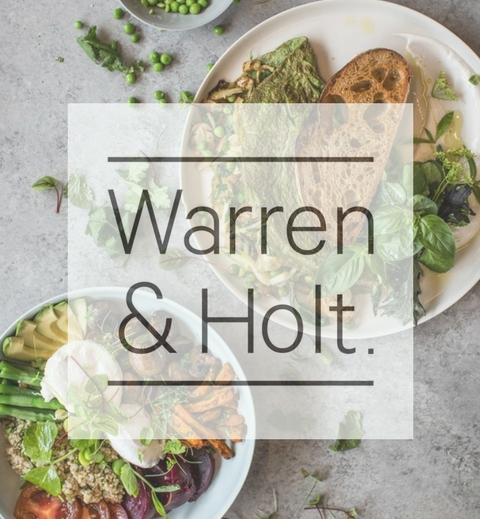 Warren & Holt is a wholefood eatery in Marrickville, Sydney. I have been part of the team to help create their menu.