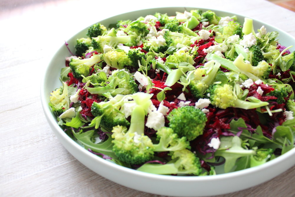BEETROOT & BROCCOLI SALAD
