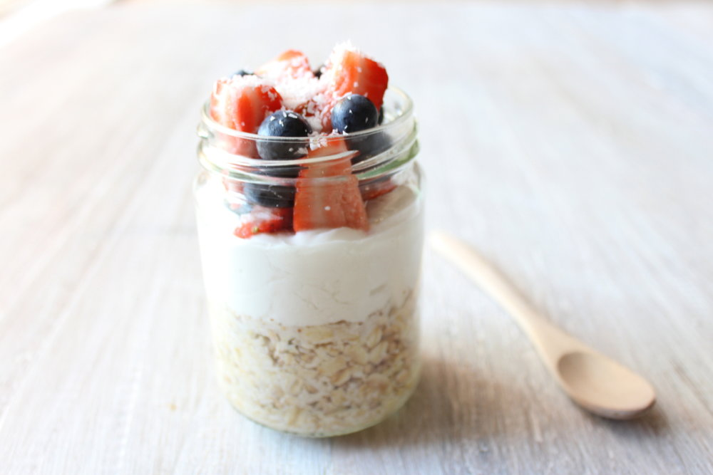 OVERNIGHT COCONUT OATS