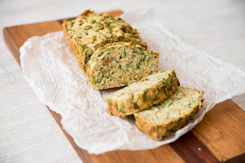 SPINACH AND ZUCCHINI LOAF