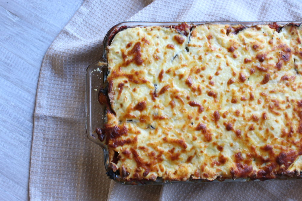 THE ULTIMATE VEGETARIAN LASAGNA