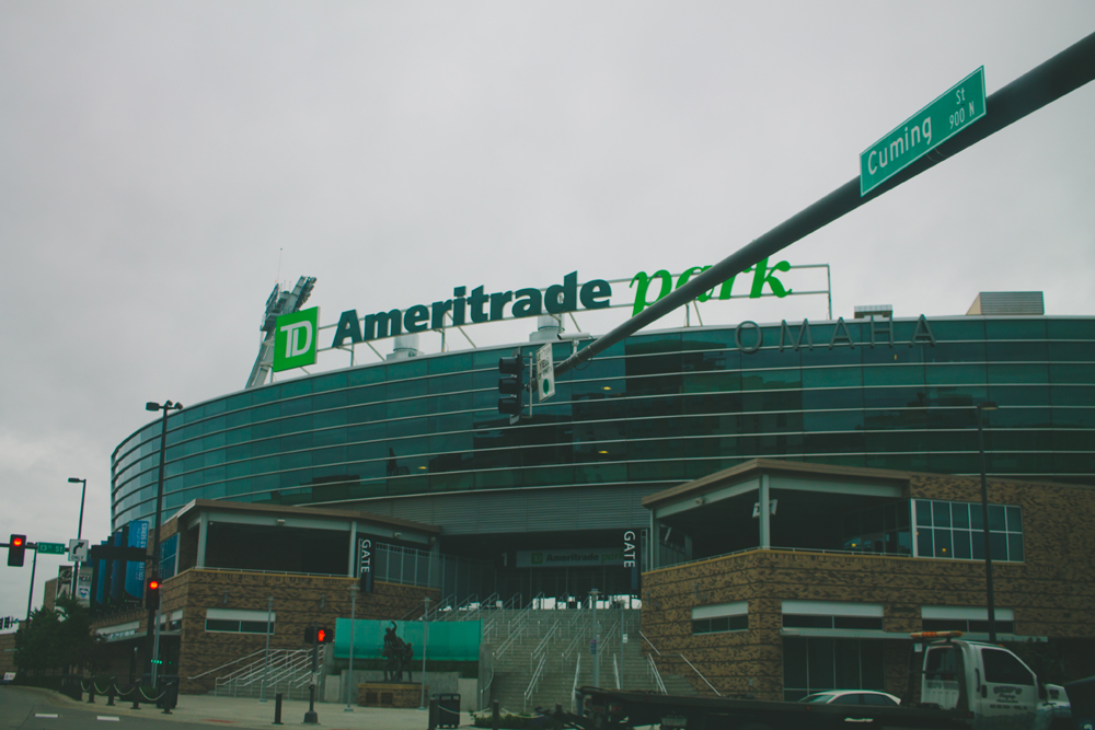 The TD Ameritrade is our baseball park. Photo courtesy of Emily Gilbert.