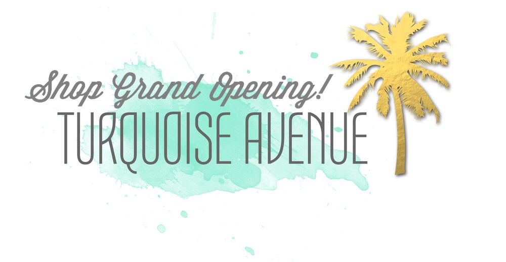 Grand Opening! Turquoise Avenue Shoppe on Etsy