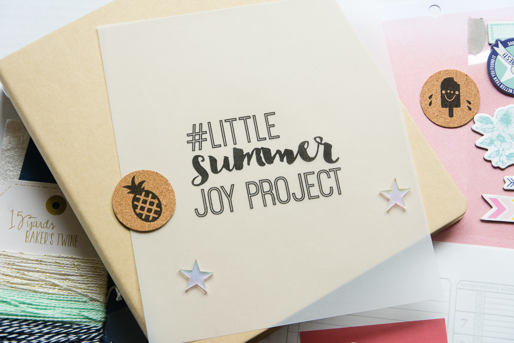 #LittleSummerJoy Project - Free class/challenge by Little Paper Projects featuring Mandy Elliott of Turquoise Avenue as a contributor. Find inspiration, ideas, and a list of supplies, with links!