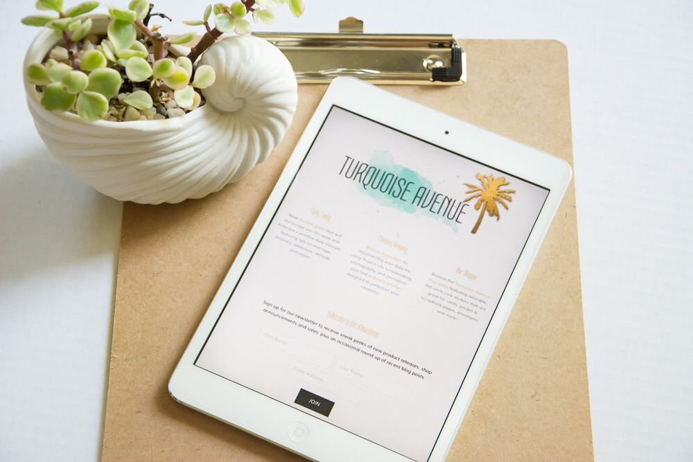 Sign up for the Turquoise Avenue eNewsletter and receive exclusive shop discounts, blog posts, sneak peeks of new releases, and a FREE PRINTABLE!