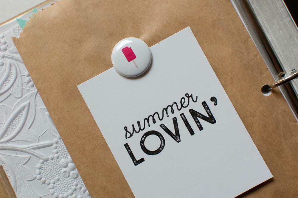 #LittleSummerJOY | Journal Card created using designs by Pixel Scrapper!