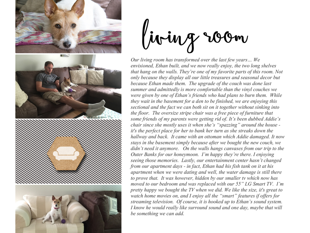 Clean, Simple Photobook Idea | Digital Home Scrapbook for Love Where You Live Class