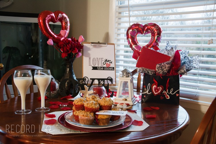 Happy Valetine's Day Idea - Stud Muffin Breakfast for Him