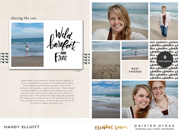 Digital Scrapbook Pocket Pages | Featuring Designs by Paislee Press