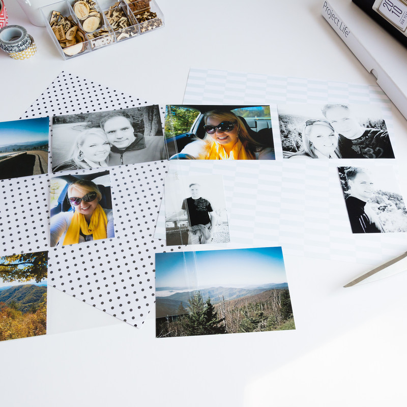 Feeling overwhelmed with all the photos that need to be scrapbooked? Learn how to complete an entire album in just weeks!