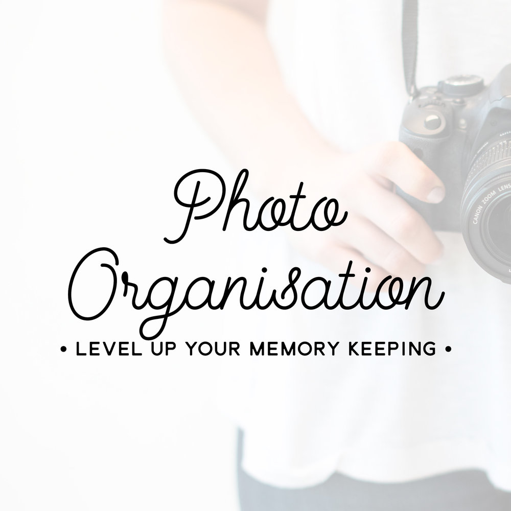 PHOTO ORGANIZING  Create an efficient organization and processing plans for your digital memories!