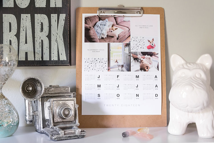 Introducing 2018 Calendar Templates From Paislee Press A Diy