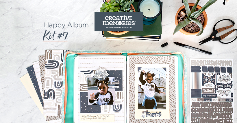 Creative Memories Happy Album Kit 7, NOW AVAILABLE!