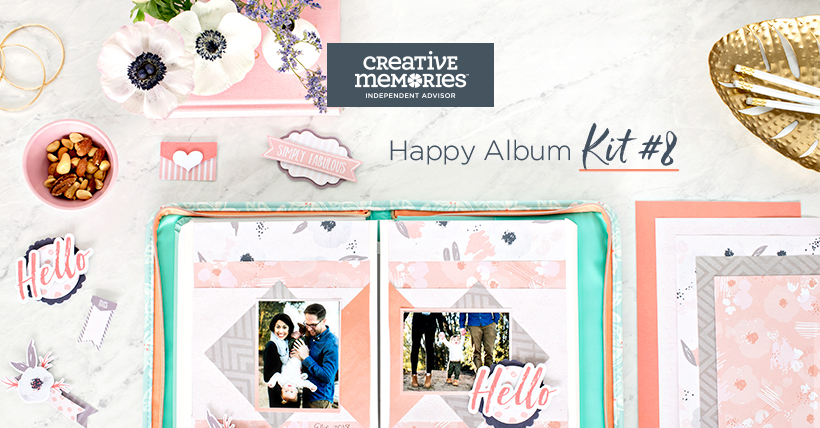 Creative Memories Happy Album Kit 8, NOW AVAILABLE!