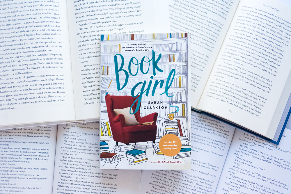 A Book Review of Book Girl by Sarah Clarkson - A journey through the treasures and transforming power of a reading life.