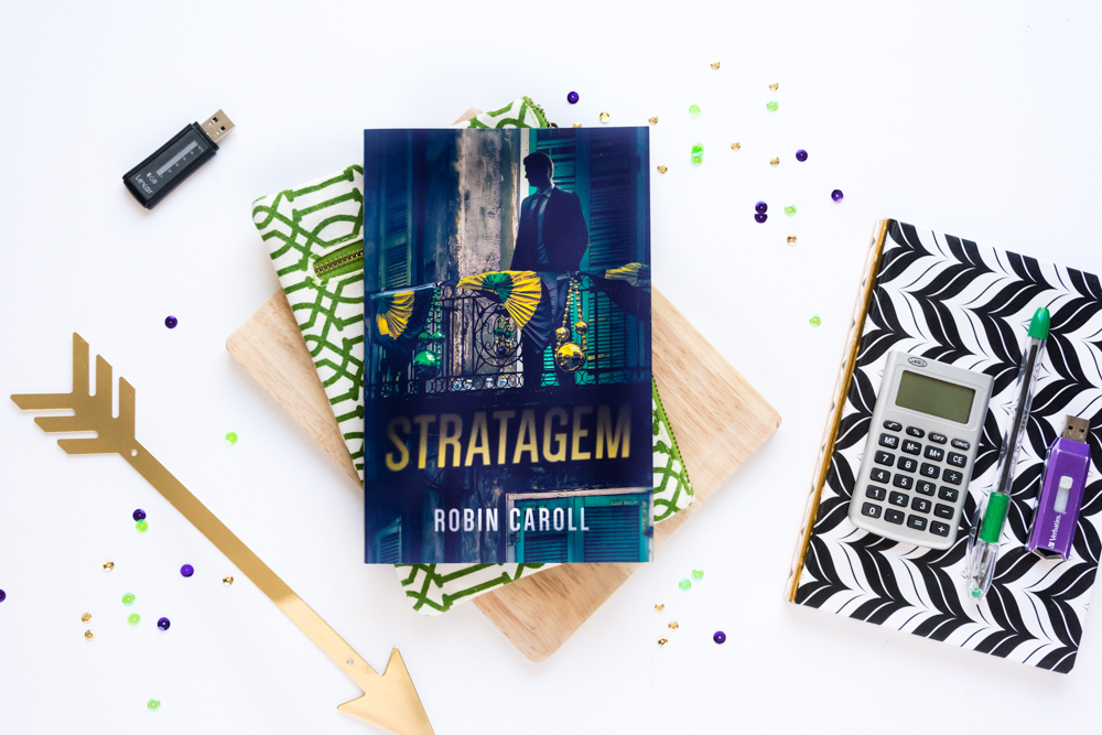 A ★★★ Book Review of Stratagem, A Contemporary Fiction Suspense Novel by Robin Caroll