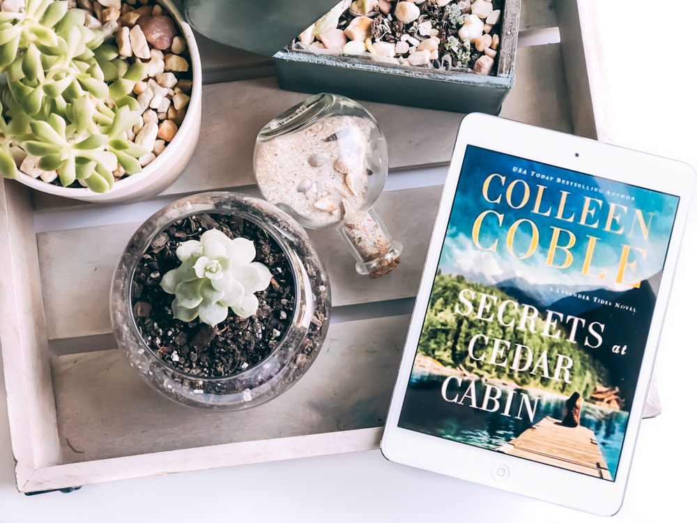 A ★★★★★ Book Review of Secrets of Cedar Cabin by Colleen Coble, a Lavender Tides Novel | A Christian Fiction Suspense Novel